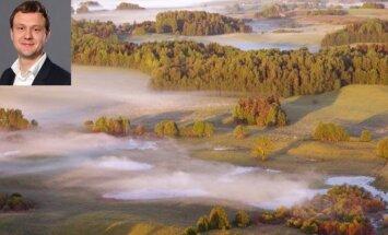 L. Kanapienis nori pradėti statybas Labanoro regioniniam parke (Jono Barzdėno fonas)