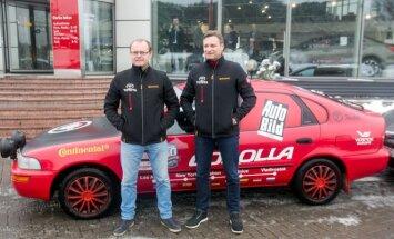 Aidas Bubinas ir Vitoldas Milius 10135 km įveikė 1993 m. gamybos Toyota Corolla