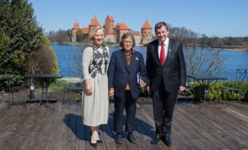 Tailando Karalystės princesė Maha Chakri Sirindhorn lankosi Trakuose