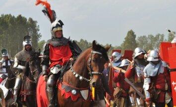 Mock Grunwald battle in Poland