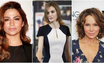 Camila Alves, Ispanijos karalienė Letizia, Jennifer Grey