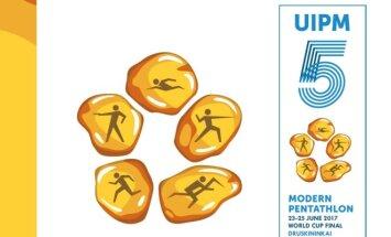 Šiuolaikinės penkiakovės pasaulio taurės logotipas