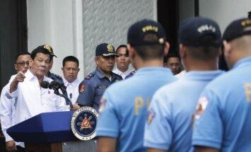 Filipinų prezidentas Rodrigo Duterte