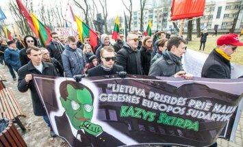 Kaune - tautininkų eitynės
