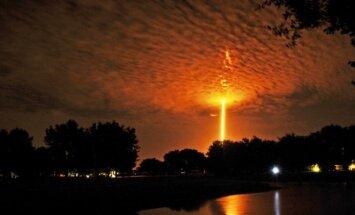 SpaceX raketos pakilimas