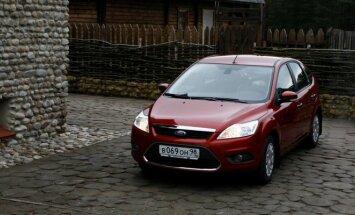 Ford Focus Rusijoje populiariausias tarp naudotųjų