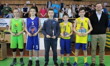 """U12 berniukų """"Pirmasis iššūkis"""" čempionato simbolinis penketas"""