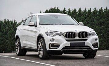 Antros kartos BMW X6