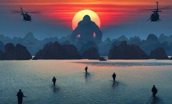 Kadras iš filmo Kongas: Kaukolės sala