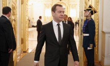 D. Medvedevas atėjo į V. Putino metinį pranešimą