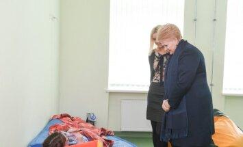 Dalia Grybauskaitė lankosi Švėkšnos specialiojo ugdymo centre