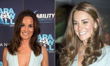 Seserys Pippa Middleton ir Kate Middleton