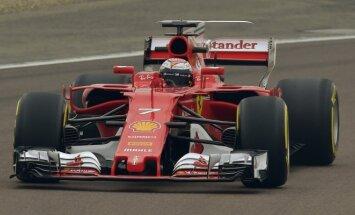 F-1 Ferrari naujas automobilis