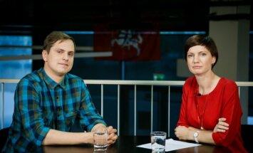 Artūras Morozovas ir Monika Garbačiauskaitė-Budrienė