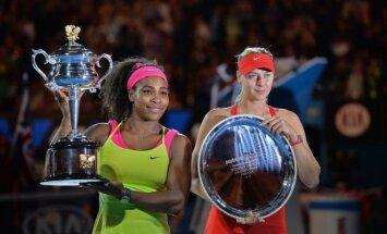 Venus Williams ir Marija Šarapova