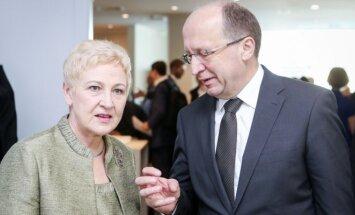 Irena Degutienė ir Andrius Kubilius