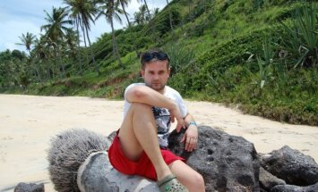 Edvardas Žičkus Brazilijoje