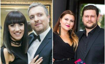 Katažina ir Deivydas Zvonkai, Merūnas ir Erika Vitulskiai