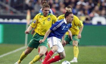 Vidas Alunderis kovoja su Franku Ribery