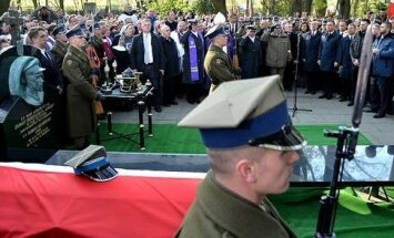 Funeral of Zygmunt Szendzielarz Lupaszka. Fot. ppor. Robert Suchy/CO MON