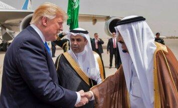 D. Trumpo vizistas Saudo Arabijoje
