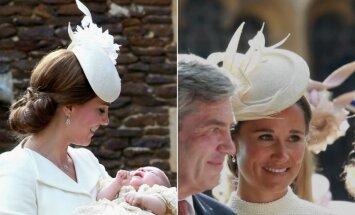 Kate Middleton ir Pippa Middleton