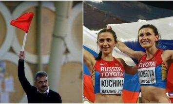 Dopingo liūne nugrimzdę Rusijos lengvaatlečiai Rio žaidynėse nedalyvaus