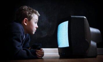 vaikas, berniukas, televizorius, technologijos, akys