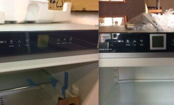 Šaldytuvas su defektais