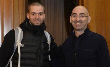 Mantas Kalnietis atvyko į Milaną