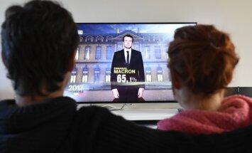 E. Macronas triumfuoja prezidento rinkimuose