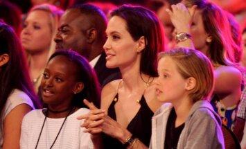 Brado Pitto ir Angelinos Jolie vaikai