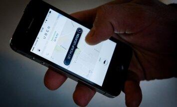 Uber programėlė (asociatyvi nuotr.)
