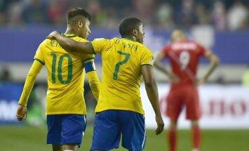 Neymaras ir Douglas Costa
