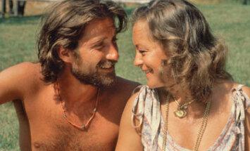 Romy Schneider su vyru Danieliu Biasiniu