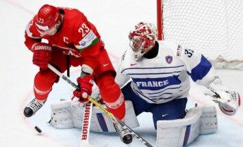 Ledo ritulys: Baltarusija - Prancūzija