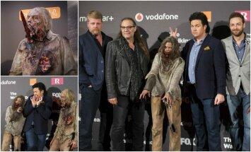 """Serialo """"The Walking Dead"""" žvaigždės bei zombiai viešėjo Madride"""