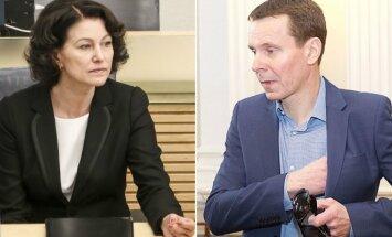 Edita Dambrauskienė ir Raimondas Kurlianskis