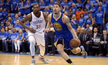 Klay Thompsonas USA Today Sports nuotr.