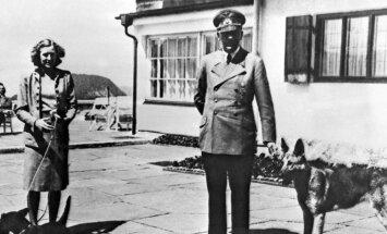 Eva Braun ir Adolfas Hitleris