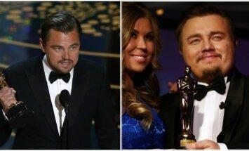 Leonardo DiCaprio ir Romanas Burcevas