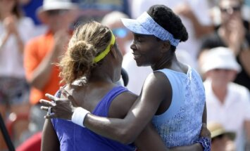 Serena ir Venus Williams