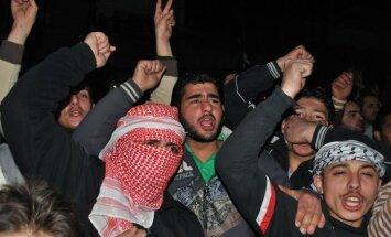Sirijos sukilėlių protestas