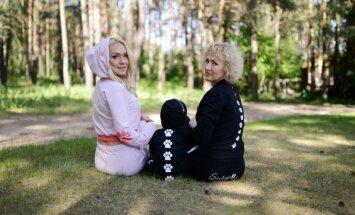 Oksana Pikul-Jasaitienė reklamuoja sportinę aprangą