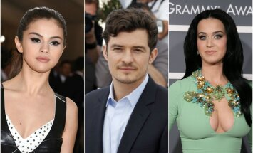 Selena Gomez, Orlando Bloom, Katy Perry