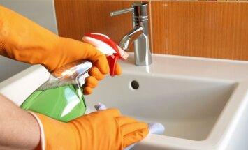 Cheminės priemonės nebūtinos namų valymui