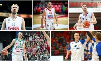 Lietuvos krepšininkai-klajokliai