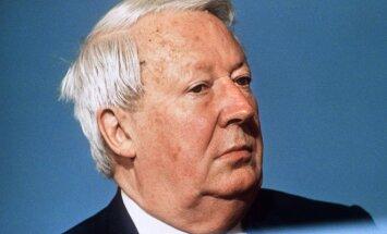Buvęs Didžiosios Britanijos premjeras Edwardas Heathas