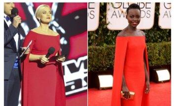 Ar panašios šios suknelės?