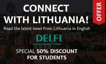 Exclusive 50% student discount offer for the Lithuania Tribune - Lithuanian news in English